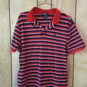 Red Ralph Lauren Polo shirt